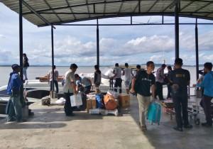 Malundung, speedboat ride, exploration, adventure, outdoor, backpackers, destination, Borneo, Indonesia, Pulau Nunukan, Island, Obyek wisata, Tourism, Wharf Terminal, Transportation, crossborder,