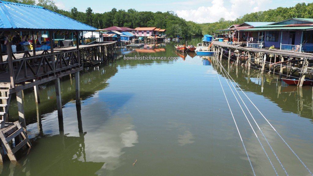 Kampung Melayu, fishing village, authentic, traditional, backpackers, Borneo, Limbang, Malaysia, Sarawak, Tourism, travel guide, transborder, dried shrimp, smoked fish, 老越砂拉越, 旅游景点