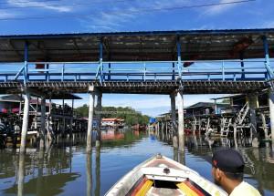 Kampung Awat-Awat, Malay, fishing village, authentic, traditional, backpackers, destination, Limbang, Malaysia, Tourism, tourist attraction, seafood, ikan tahai, udang kering, 砂拉越婆罗洲