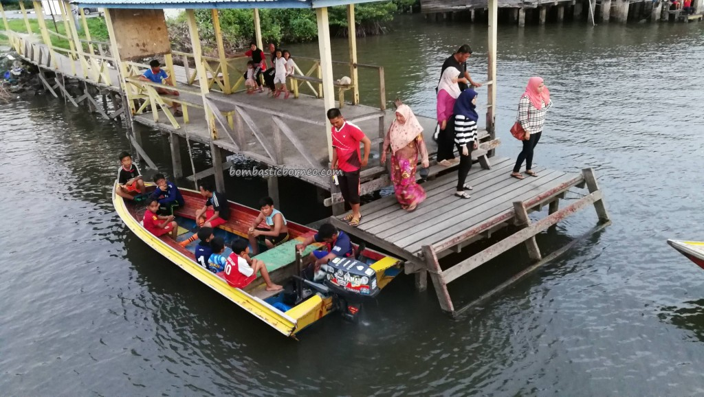 Awat-Awat, Kampung Melayu, fishing village, floating house, authentic, traditional, destination, Limbang, Malaysia, nelayan, Tourism, travel guide, transborder, Ikan Tahai, smoked fish,