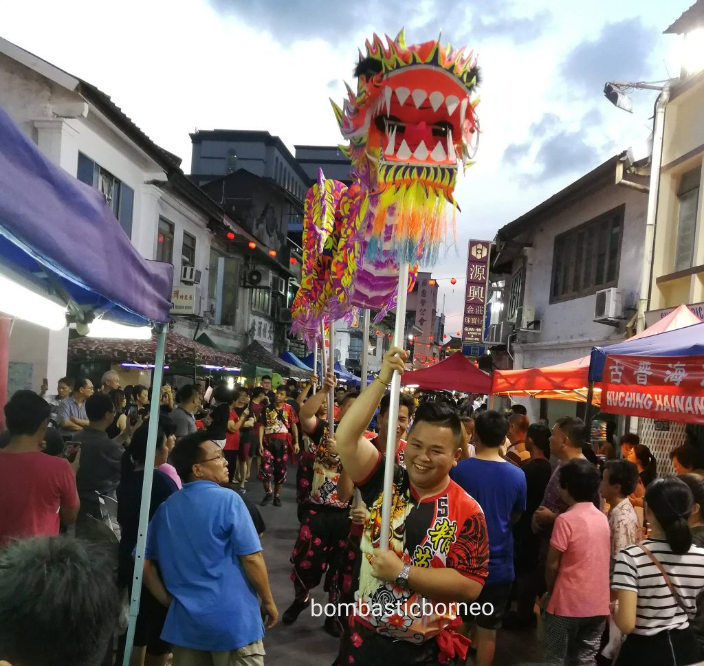 Kuching Intercultural Mooncake Festival, Mid-autumn Festival, authentic, traditional, Carpenter Street, Sarawak, Malaysia, ethnic, chinese, culture, event, Tourism, tourist attraction, travel guide, 马来西亚中秋节,