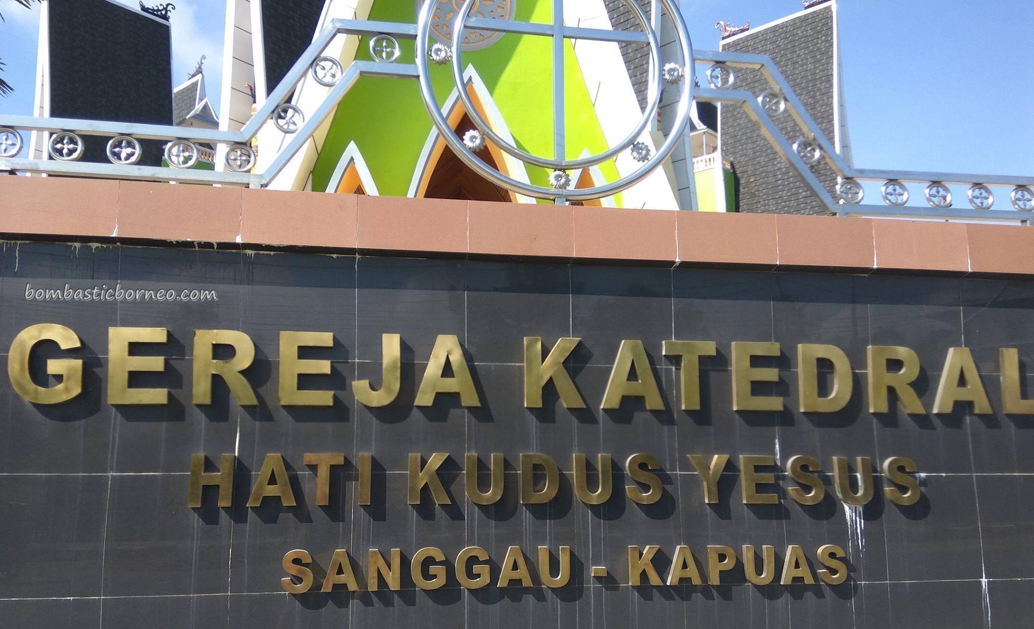 Sacred Heart of Jesus, Gereja Hati Kudus Yesus, cathedral, kristen, christian, Borneo, West Kalimantan, Obyek wisata, Tourism, travel guide, katolik, pesona, 印尼西加里曼丹, 天主教教堂