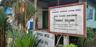 stone artifacts, traditional, destination, Borneo, Desa Beringin Jaya, Indonesia, West Kalimantan, Kapuas Hulu, Suku Dayak Bukat, native, wisata budaya, Tourism, travel guide, village, 婆罗洲西加里曼丹, 旅游景点
