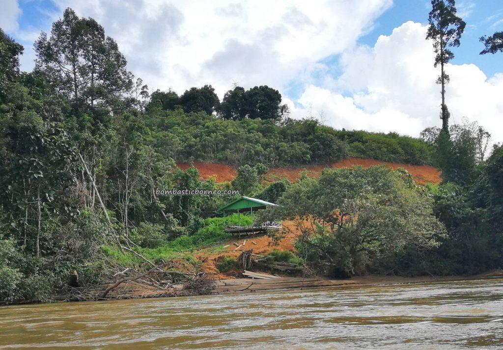 adventure, boat ride, authentic, traditional, backpackers, Dusun Nanga Balang, Putussibau Selatan, Indonesia, Kapuas Hulu, Suku Dayak Bukat, native, Obyek wisata, Pariwisata, travel guide, village,