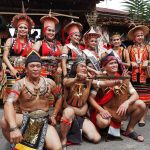 Taee village, thanksgiving, indigenous, culture, destination, Borneo, Sarawak, Malaysia, Dayak Bidayuh, tribal, tribe, street parade, Tourism, tourist attraction, travel guide, crossborder,
