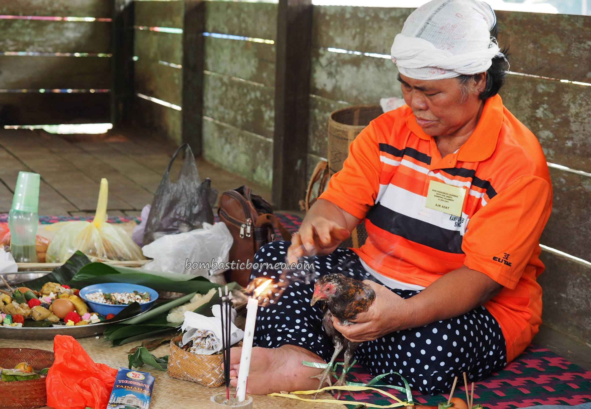 Pesta Batu Si'ib, Kampung Selampit, ritual, Gawai Harvest Festival, authentic, traditional, culture, Borneo, Lundu, Sarawak, Dayak Bidayuh, native, tribal, Tourist attraction, travel guide, transborder,