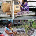 rattan basket, destination, Borneo, Dusun Matalunai, Desa Beringin Jaya, Kapuas Hulu, Putussibau Selatan, Indigenous, Suku Dayak Bukat, native, Tourism, tourist attraction, travel guide, transborder, 婆罗洲原住民