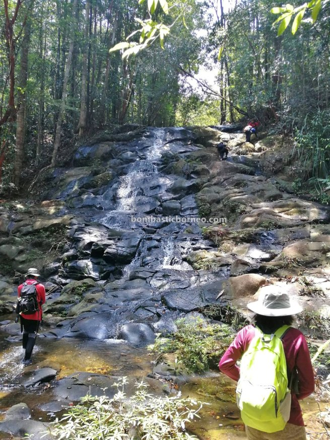 Air terjun Kemantan Lidi, waterfall, Kumpang Langgir, adventure, nature, outdoor, expedition, jungle hiking, backpackers, Engkilili, Sri Aman, Sarawak, Malaysia, Tourism, travel guide, crossborder,