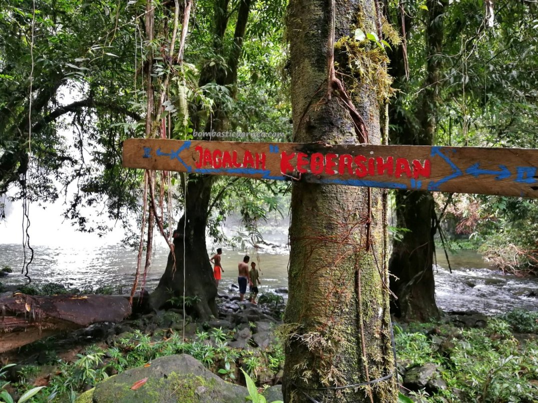 Menajur Waterfall, air terjun, nature, jungle trekking, exploration, Bengkayang, Borneo, Desa Bengkilu, Dusun Laek, Tujuh Belas, Tourism, travel guide, authentic village, transborder, 印尼西加里曼丹, 婆罗洲瀑布旅游