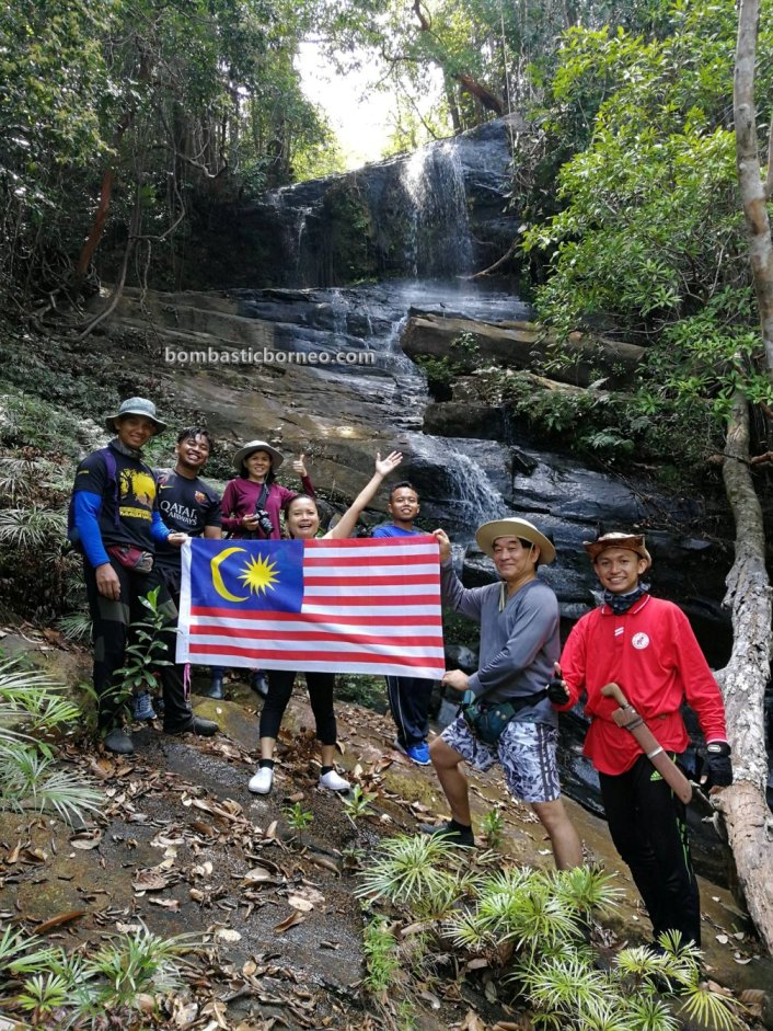 Air Terjun Kemantan Lidi, Kumpang Langgir, alam, exploration, jungle trekking, backpackers, Borneo, Sri Aman, Malaysia, Tourism, travel guide, Iban village, crossborder, 砂拉越马来西亚, 瀑布旅游景点