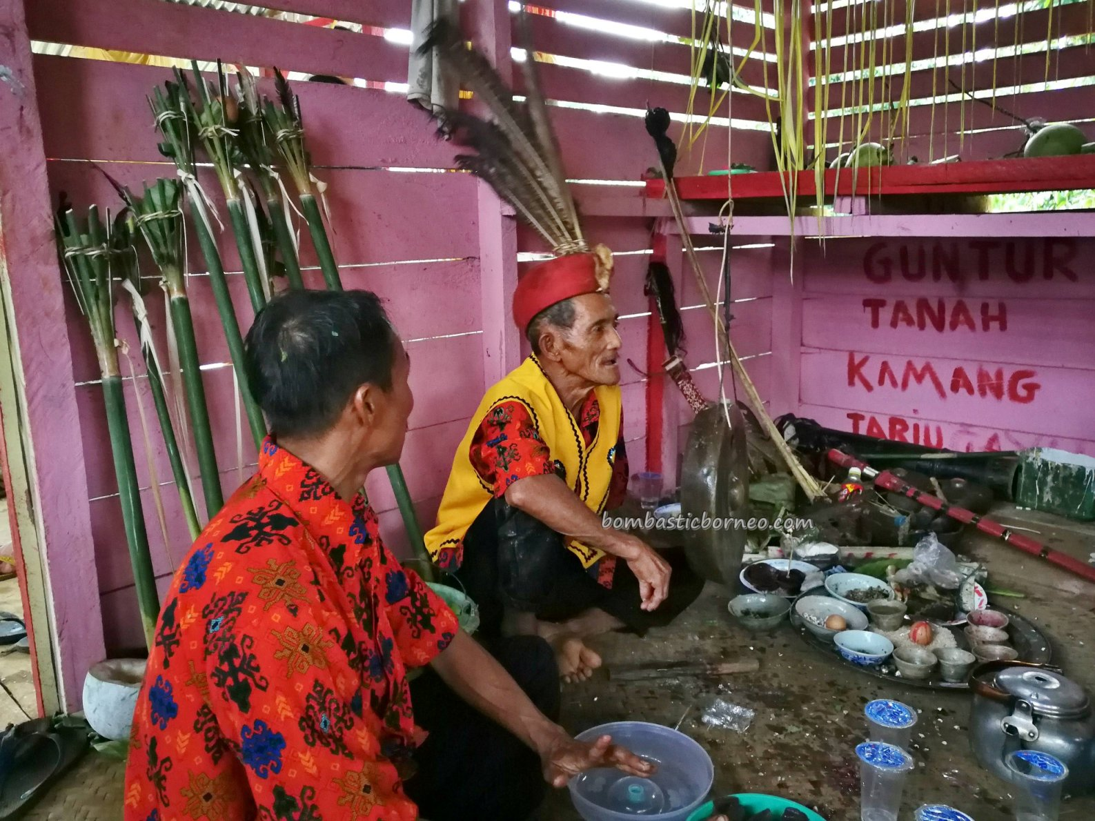 Gawai Dayak, Nyabakng, paddy harvest festival, authentic village, traditional, culture, ritual, skull cleansing, Borneo, Indonesia, West Kalimantan, Dusun Laek, native, Tourism, travel guide, crossborder
