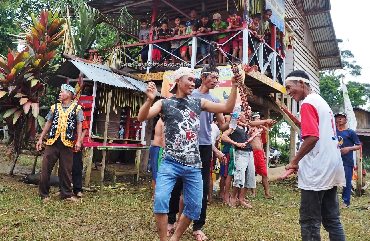 Gawai Nyabakng, authentic village, traditional, ritual, skull cleansing, Bengkayang, Indonesia, Desa Bengkilu, Dusun Laek, Tujuh Belas, native, tribal, tourist attraction, crossborder, 印尼西加里曼丹, 土著丰收节日