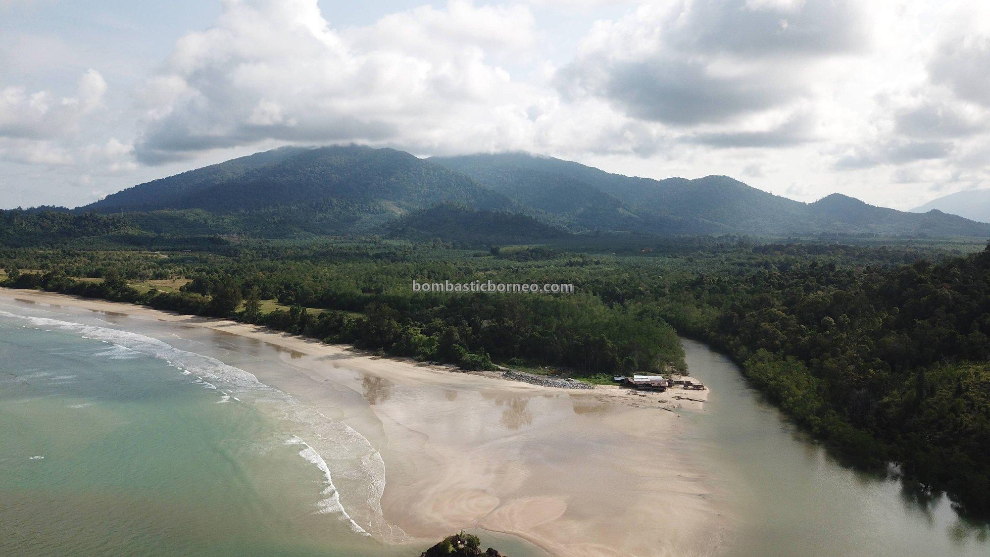 Bukit Gondol, Kampung Pugu, Beach, adventure, nature, outdoor, backpackers, exploration, family vacation, Borneo, Tourism, tourist attraction, transborder, 古晋伦乐海滩, 砂拉越婆罗洲
