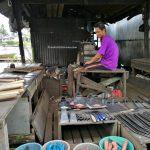 machete, authentic, traditional, backpackers, destination, Dayak Melayik, native, malay village, floating house, Obyek wisata, Tourism, tourist attraction, transborneo, 印尼西加里曼丹, 三发婆罗洲