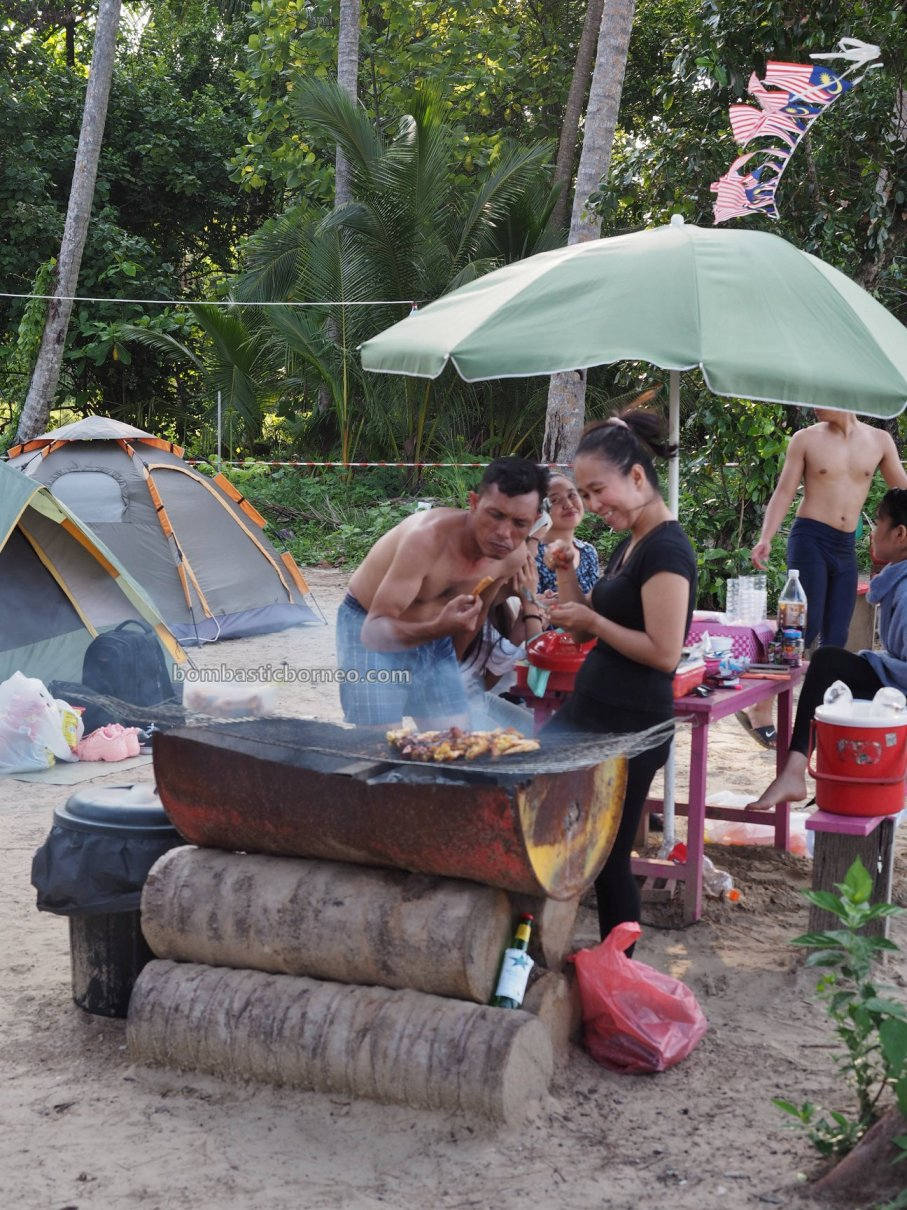 Permata Camping Site, pantai, nature, outdoor, backpackers, destination, Sarawak, Malaysia, Kuching, Tourism, tourist attraction, travel guide, Transborneo, 伦乐海滩露营地, 砂拉越旅游景点