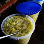 fruits salad, authentic, traditional, backpackers, Dayak Melayik, native, malay village, floating house, Borneo, Kalimantan Barat, Tourism, tourist attraction, town, travel guide, 印尼西加里曼丹,