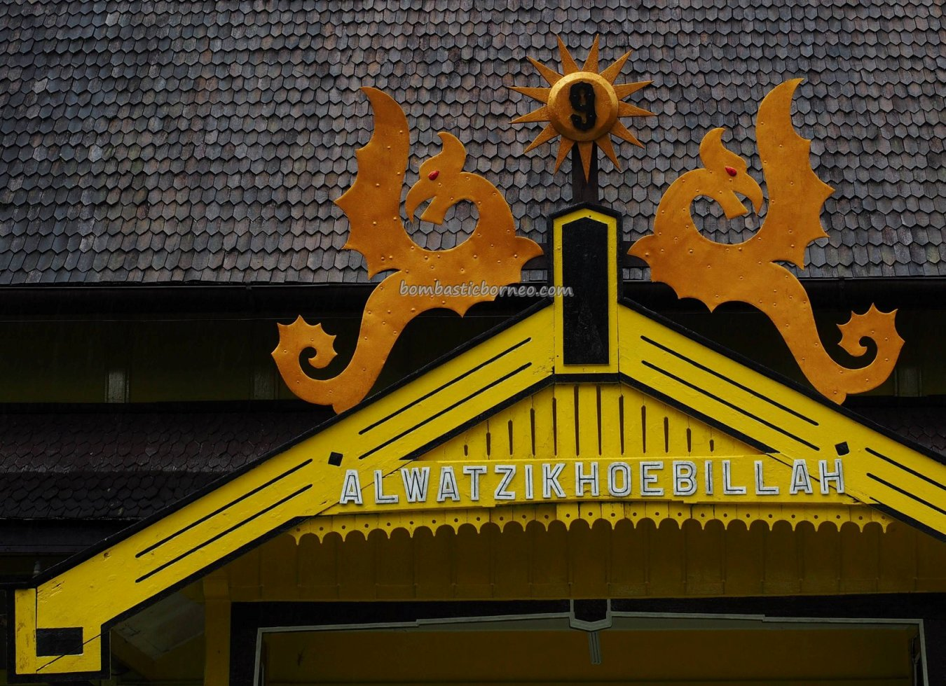 Istana Kerajaan, Keraton, Malay Sultanate, history, ancient, traditional, destination, Dayak Melayik, town, Indonesia, museum, Obyek wisata, travel guide, 婆罗洲旅游景点, 印尼西加里曼丹,