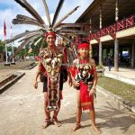 Rumah Betang Raya Dori Mpulor, longhouse, Gawai Dayak Sanggau, paddy harvest festival, traditional, backpackers, culture, Borneo, Indonesia, West Kalimantan, native, tribal, Obyek wisata, Tourism, travel guide, cross border
