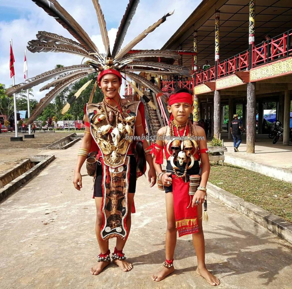 Rumah Betang Raya Dori Mpulor, longhouse, Gawai Dayak Sanggau, paddy harvest festival, traditional, backpackers, culture, Borneo, Indonesia, West Kalimantan, native, tribal, Obyek wisata, Tourism, travel guide, cross border