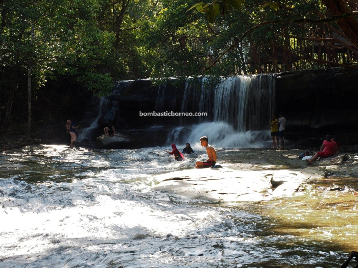 Taman Wisata Pancur Aji, waterfall, adventure, nature, outdoor, backpackers, exploration, Borneo, Indonesia, West Kalimantan, Kota Sanggau, tourist attraction, Tourism, travel guide, trans border,