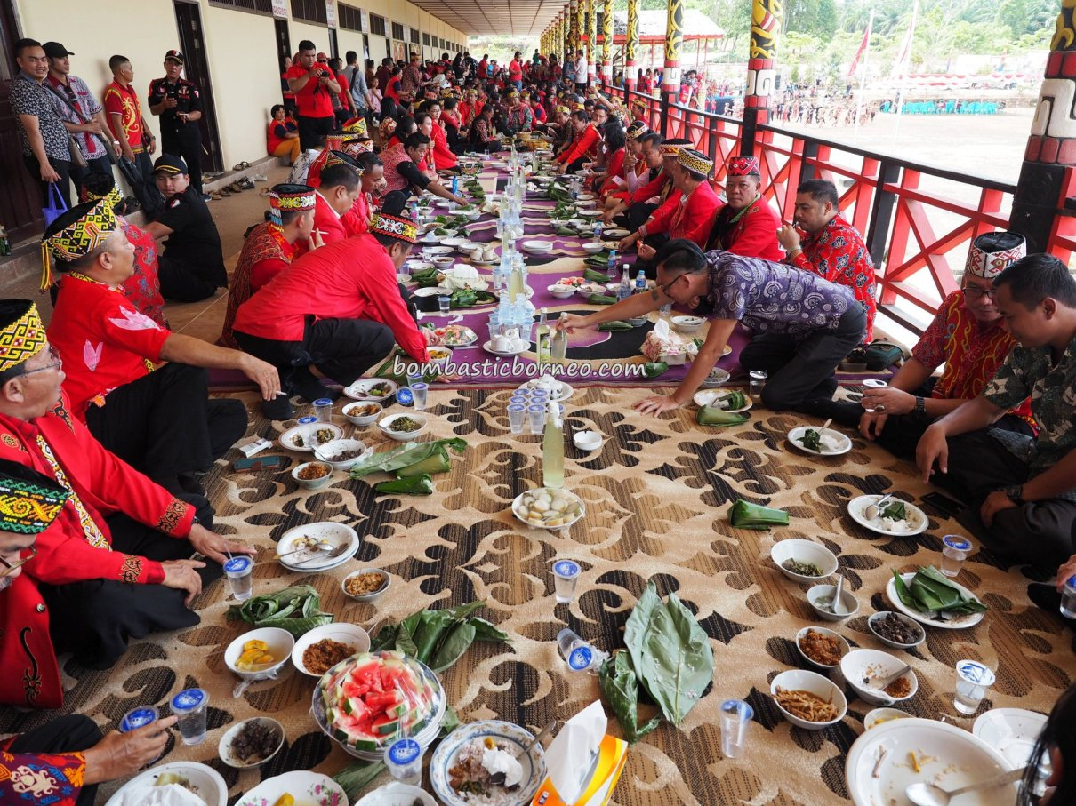 Rumah Betang Raya Dori Mpulor, longhouse, Gawai Dayak Sanggau, paddy harvest festival, authentic, traditional, culture, Borneo, Indonesia, West Kalimantan, native, tribe, Tourism, tourist attraction, travel guide, trans border