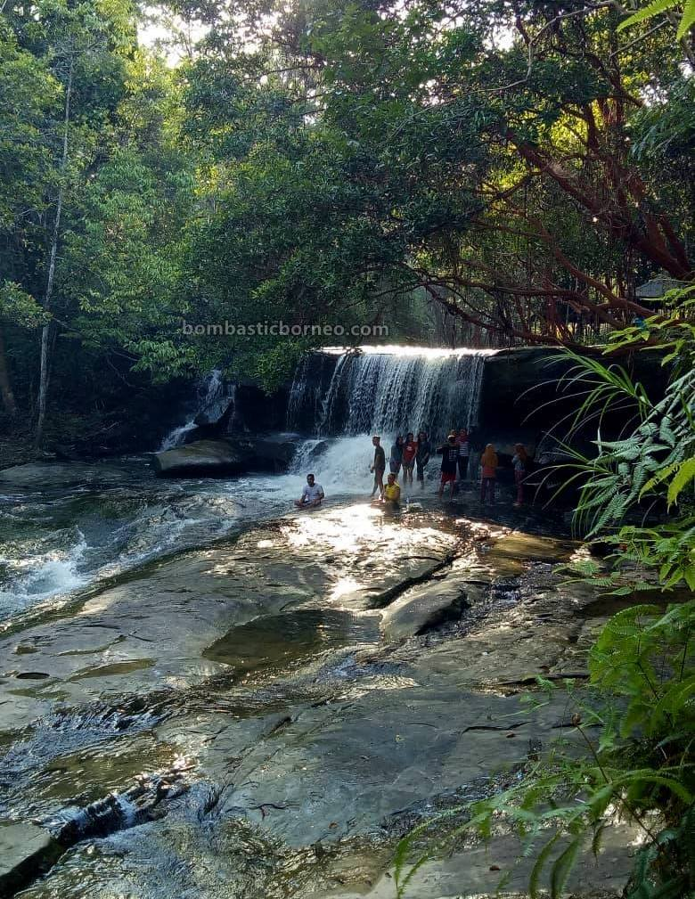 Taman Wisata Pancur Aji, air terjun, waterfalls, destination, exploration, picnic, Borneo, Indonesia, wisata alam, Tourism, tourist attraction, cross border, 婆罗洲游踪, 印尼西加里曼丹,