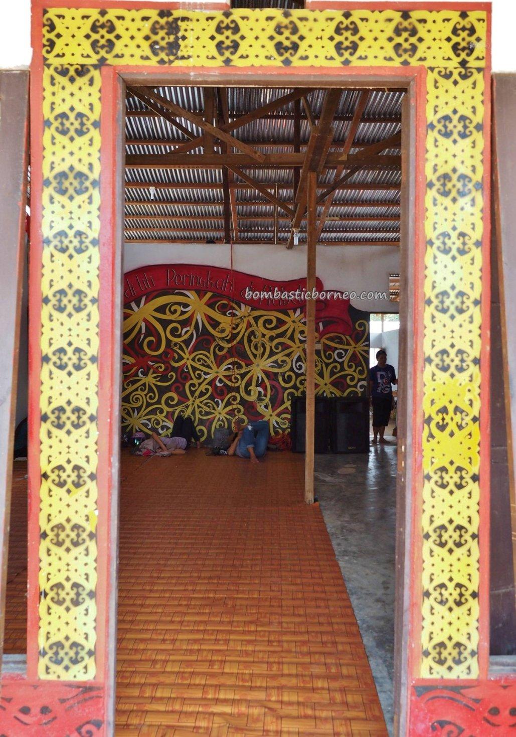 Rumah Betang Raya Dori Mpulor, thanksgiving, authentic, traditional, destination, culture, Kalimantan Barat, ethnic, native, tribe, tribal, Tourism, tourist attraction, trans borneo,