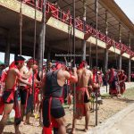 Rumah Betang Raya Dori Mpulor, longhouse, paddy harvest festival, authentic, traditional, destination, culture, Borneo, Indonesia, obyek wisata, Tourism, travel guide, trans border, 婆罗洲印尼西加里曼丹, 传统土著丰收节日