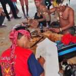 lukisan perisai, ukiran kayu, paddy harvest festival, traditional, Borneo, West Kalimantan, native, tribe, tribal, Tourism, tourist attraction, travel guide, trans border, 印尼西加里曼丹, 婆罗洲达雅克文化