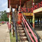 Rumah Betang Raya Dori Mpulor, longhouse, Gawai harvest festival, authentic, indigenous, traditional, destination, culture, Indonesia, native, Tourism, tourist attraction, travel guide, trans border, 婆罗洲印尼西加里曼丹, 上侯原住民丰收节,