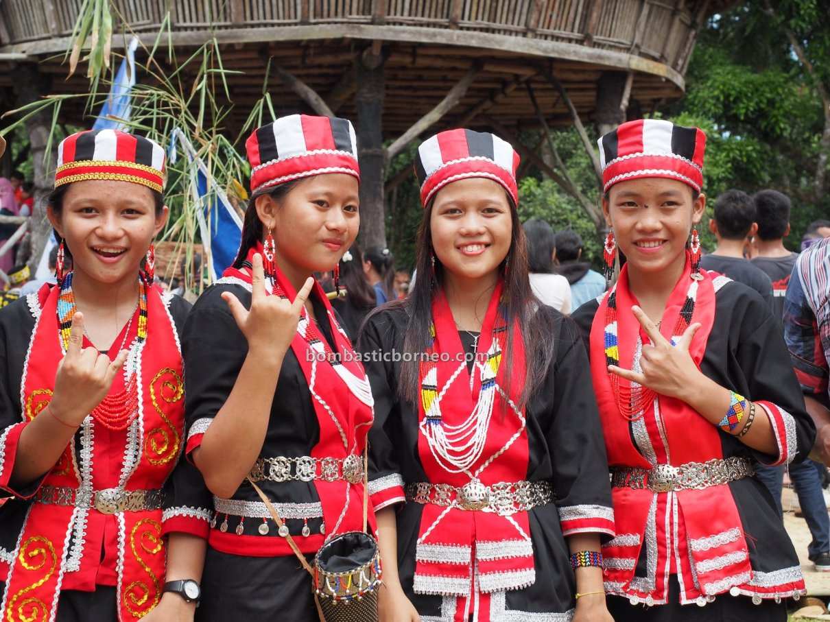 Gawai Dayak, paddy harvest festival, Rumah Adat Baluk, indigenous, traditional, culture, dayak bidayuh, native, ethnic, Bengkayang, Indonesia, Jagoi Babang, West Kalimantan, Tourism, tourist attraction, Transborder