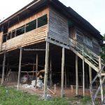 rumah panjang, authentic, Dayak Iban, longhouse, native, rural village, Kampung Gayau, Borneo, Sarawak, Malaysia, Samarahan, Simunjan,