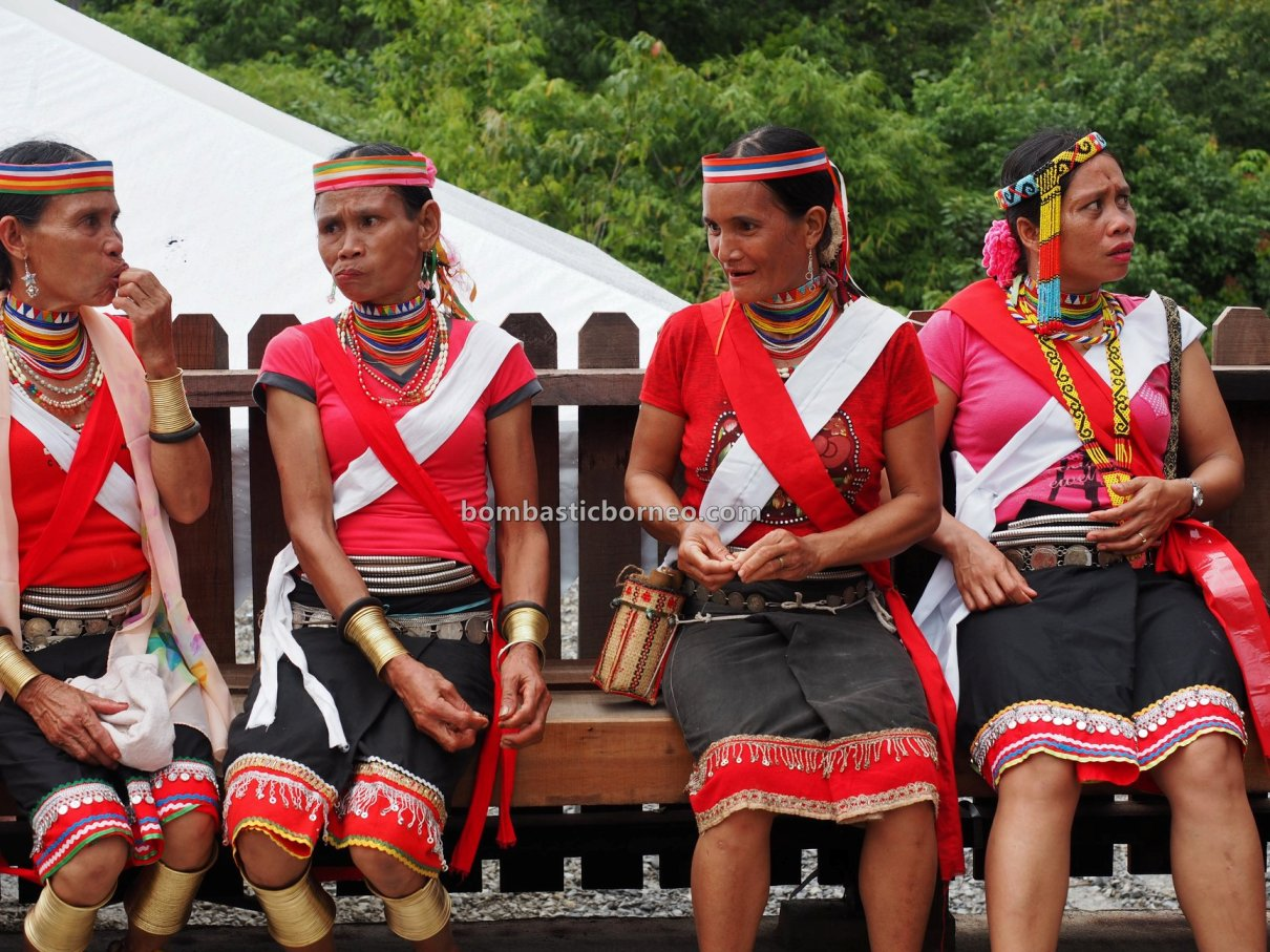 Kampung Gumbang, Gawai Serumpun, Dayak Bidayuh, paddy harvest festival, indigenous, traditional, Copper ring lady, Kalimantan Barat, Sarawak, culture, ethnic, tribal, Tourism, travel guide, trans border