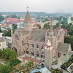 Christ the King Cathedral, backpackers, destination, Borneo, Indonesia, West Kalimantan, catholic, church, Obyek wisata, Tourism, tourist attraction, travel guide, trans border, 婆罗洲游踪, 印尼西加里曼丹新钉