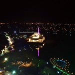 Masjid Terapung, Masjid India Bandar Kuching, Masjid Tertua, India Mosque, Indian Muslim, backpackers, Malaysia, Kuching Waterfront, Obyek Wisata, Tourism, tourist attraction, destination, 婆罗洲游踪, 古晋水上清真寺, 砂拉越河滨公园