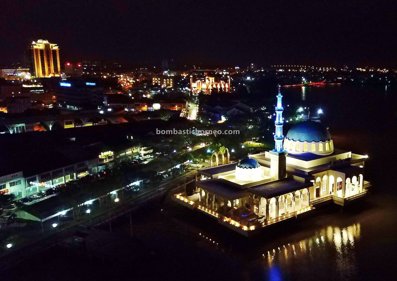 Masjid Terapung, Masjid India Bandar Kuching, Masjid Tertua, India Mosque, Indian Muslim, Malaysia, Darul Hana Bridge, Sarawak river, Tourism, tourist attraction, culture, Cross Border, 婆罗洲游踪, 古晋水上清真寺, 马来西亚旅游景点