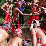 Kampung Gumbang, Bidayuh Village, paddy harvest festival, thanksgiving, authentic, Kuching, Malaysia, budaya, culture, ritual, tribal, Tourism, travel guide, cross border, 砂拉越比达友丰收节, 婆罗洲达雅文化