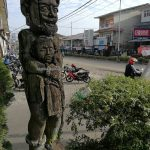 local market, native, Dayak sculpture, authentic, traditional, destination, Melawi, Obyek wisata, tourist attraction, travel guide, Cross Border, 婆罗洲游踪, 西加里曼丹彬路, 印度尼西亚