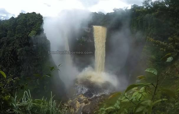 waterfall, nature, backpackers, destination, Indonesia, Kalimantan Barat, Obyek wisata, Tourism, travel guide, Trans Border, 跨境婆罗洲游踪, 印尼西加里曼丹, 彬路瀑布