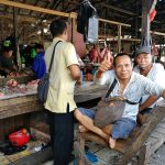 local market, vegetable, authentic, traditional, backpackers, destination, river, Obyek wisata, Tourism, tourist attraction, Trans Borneo, Melawi, 婆罗洲印尼游踪, 印尼西加里曼丹, 彬路早市