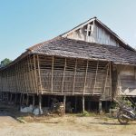 tribal longhouse, authentic, Traditional, backpackers, Sintang, Dusun Rentap Selatan, Ethnic, native, Suku Dayak Desa, Obyek wisata, Tourism, Trans Borneo, 婆罗洲传统原住民长屋, 印尼西加里曼丹, 新党旅游景点
