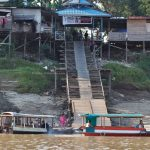 rumah lanting, floating house, authentic, traditional, destination, Borneo, Indonesia, river, Obyek wisata, Tourism, travel guide, Trans Border, 穿越婆罗洲游踪, 西加里曼丹彬路水上之家, 印尼默拉维河