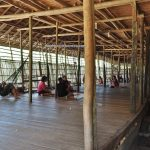 longhouse, authentic, Traditional, culture, Sintang, Indonesia, West Kalimantan, native, tribe, Tourism, tourist attraction, Travel guide, Trans Border, 婆罗洲原住民传统长屋, 新钉旅游景点, 西加里曼丹达雅克部落