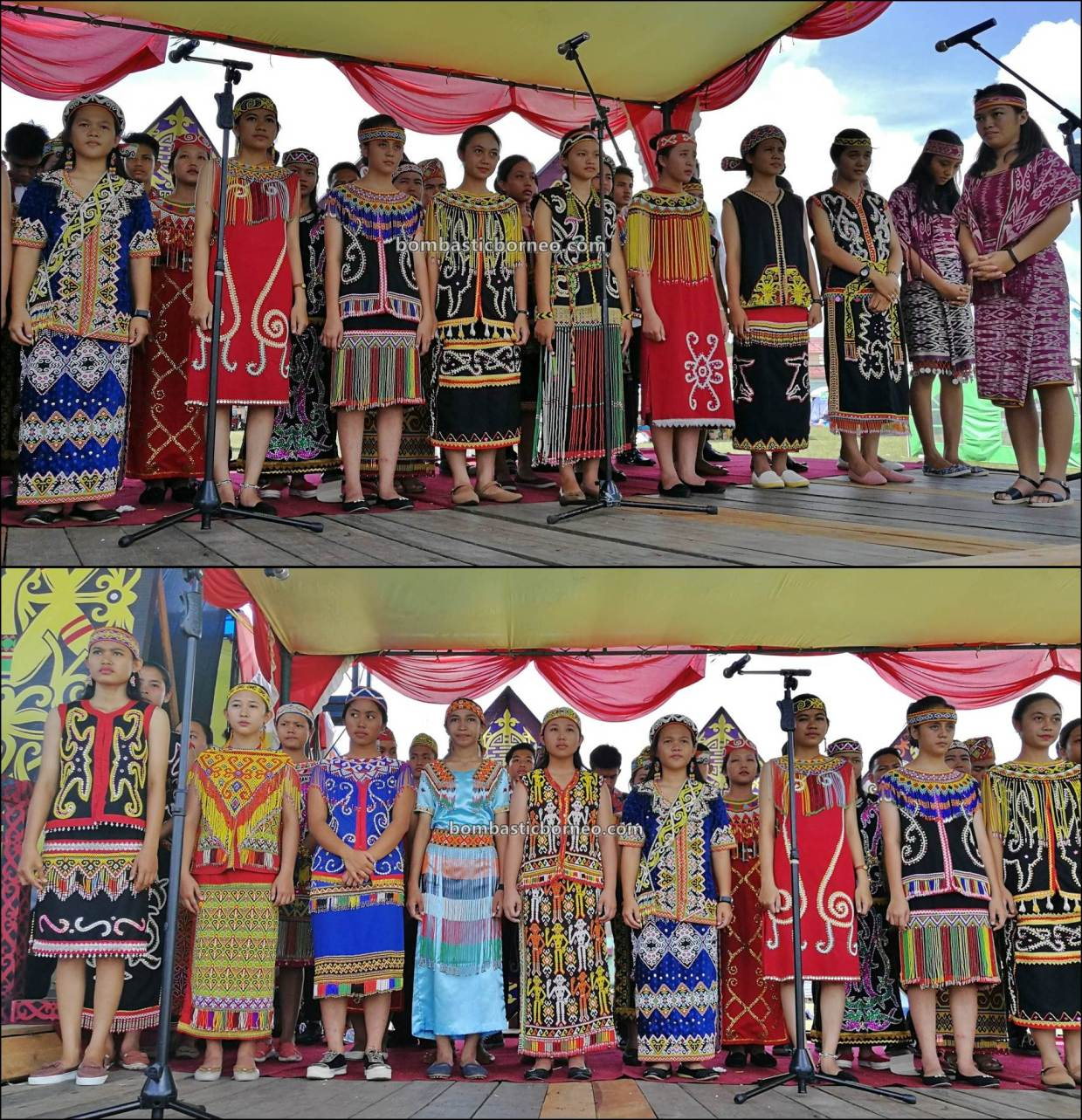 thanksgiving, traditional, culture, event, Indonesia, indigenous, native, tribal, Tourism, tourist attraction, travel guide, Trans Borneo, 卡普阿斯胡卢丰收节, 印尼西加里曼丹, 原住民达雅文化