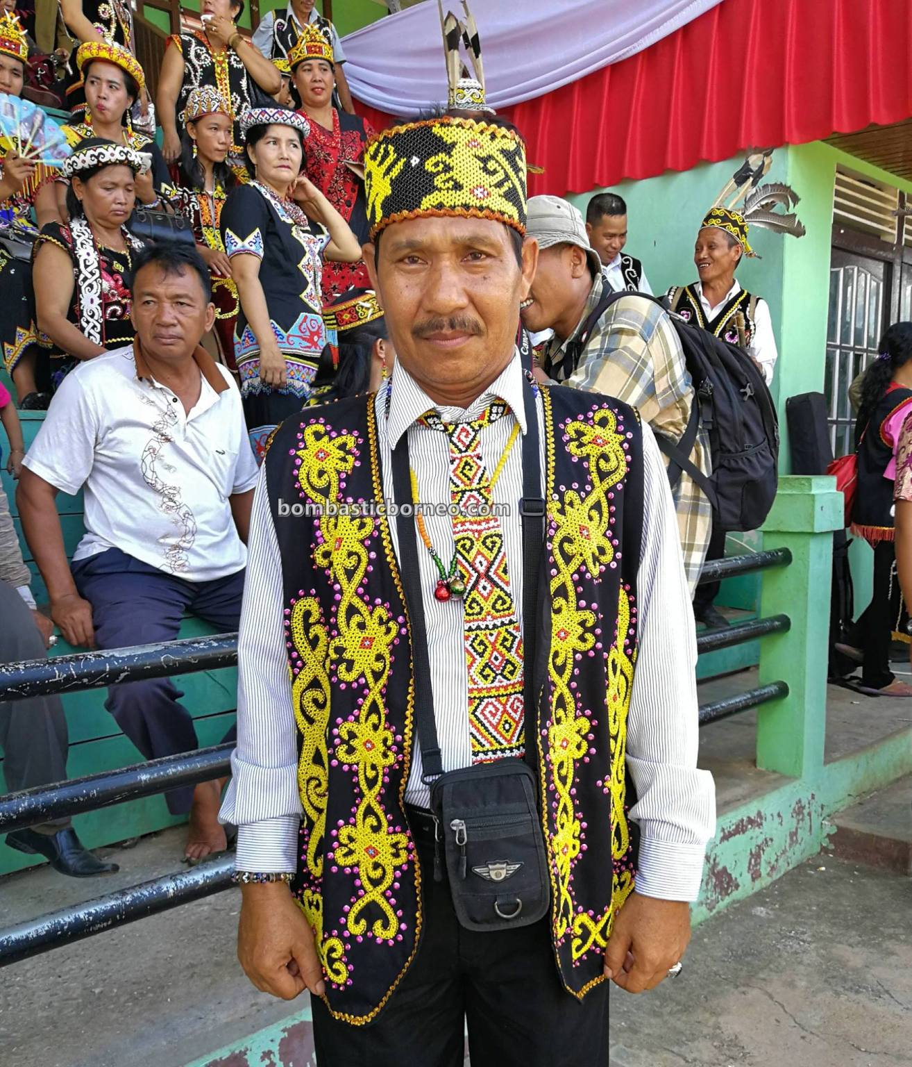 Gawai harvest festival, authentic, event, budaya, Indonesia, West Kalimantan, Putussibau, Ethnic, native, Suku Dayak, Obyek wisata, Trans Border, 跨境婆罗洲游踪, 印尼甘布安斯乌鲁, 富都原住民丰收节