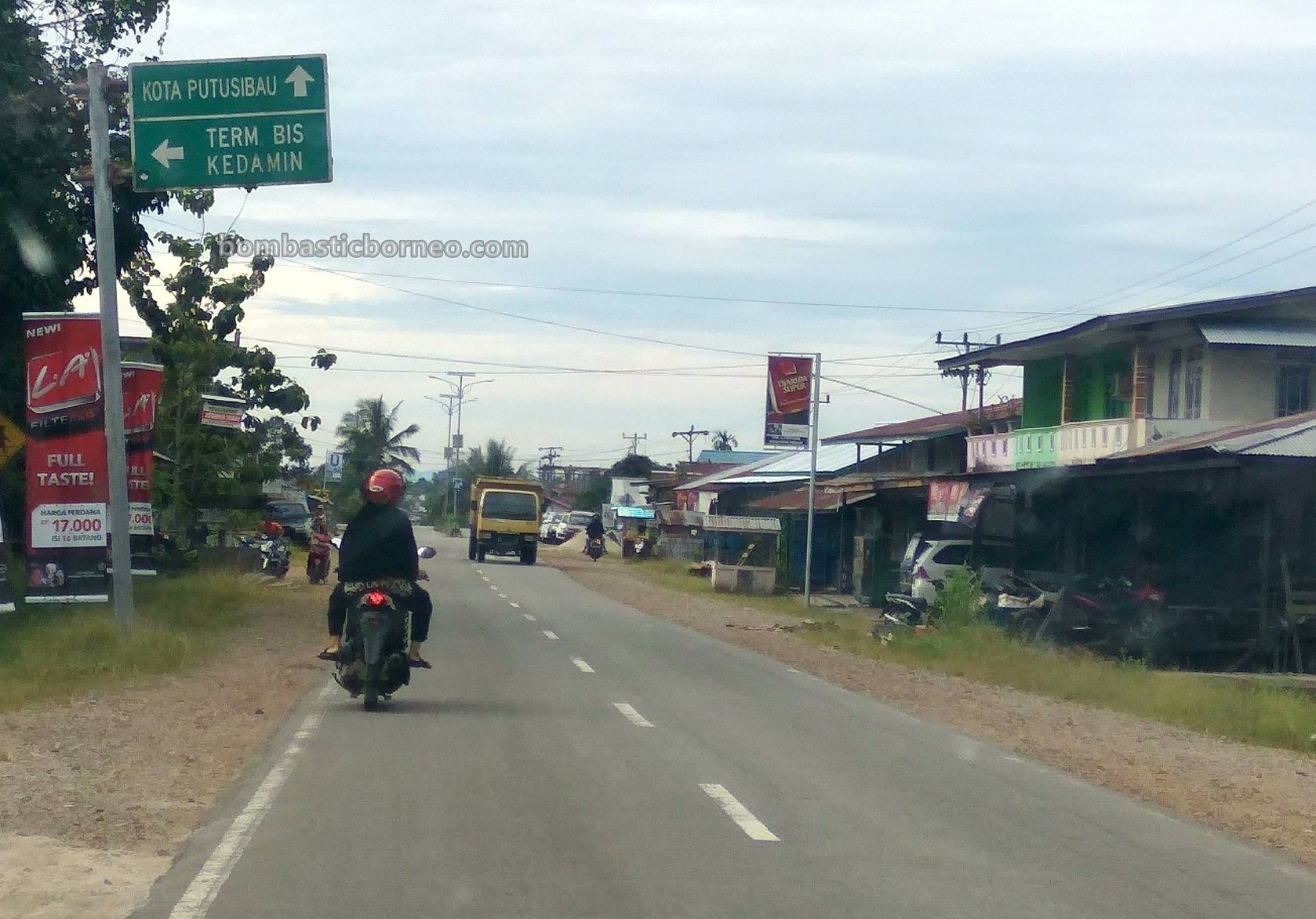trans Kalimantan drive, backpackers, Borneo, Indonesia, Putussibau, Nanga Silat, Tourism, tourist attraction, Cross Border, 穿越婆罗洲游踪, 印尼西加里曼丹富都