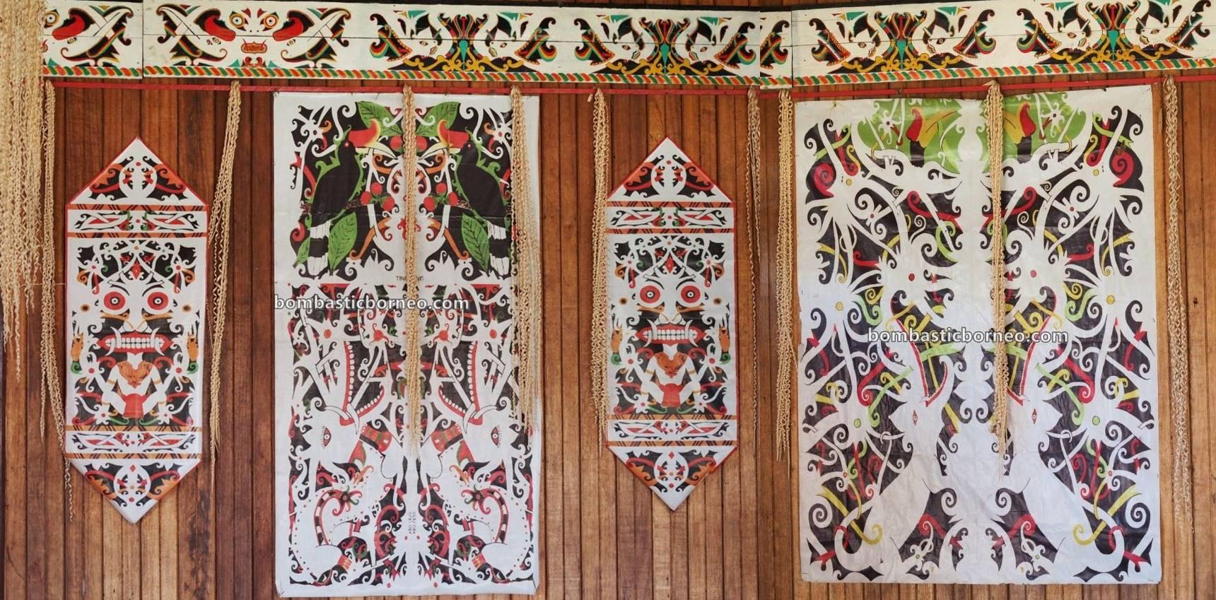 traditional, dayak motif, Borneo, Indonesia, Kalimantan Barat, Putussibau Utara, Mendalam Pagung, Desa Datah Diaan, native, Kayan, tribal, tribe, tourism, 探索婆罗洲游踪, 印尼西加里曼丹, 富都加央族部落