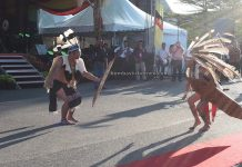 Gawai Dayak Iban, Street Parade, traditional, culture, destination, indigenous, Kuching, ethnic, tourism, tourist attraction, Cross Border, Borneo, 探索婆罗洲游踪, 砂拉越原住民丰收节, 达雅克伊班族,