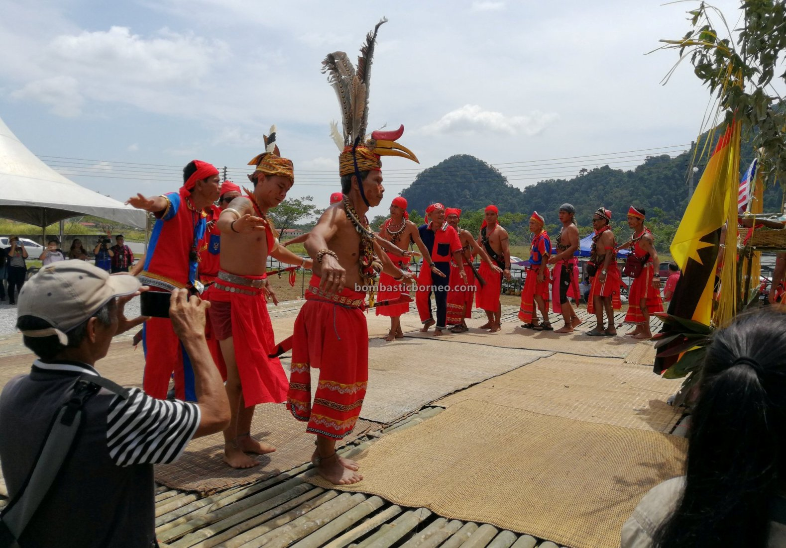 Pesta Nyarok Biya, Bengoh Dam Resettlement Scheme, authentic, backpackers, culture, Ceremony, dayak bidayuh, native, Gawai harvest festival, Kampung Semban, Borneo, Sarawak, Kuching, Padawan, tourist attraction, cross border,