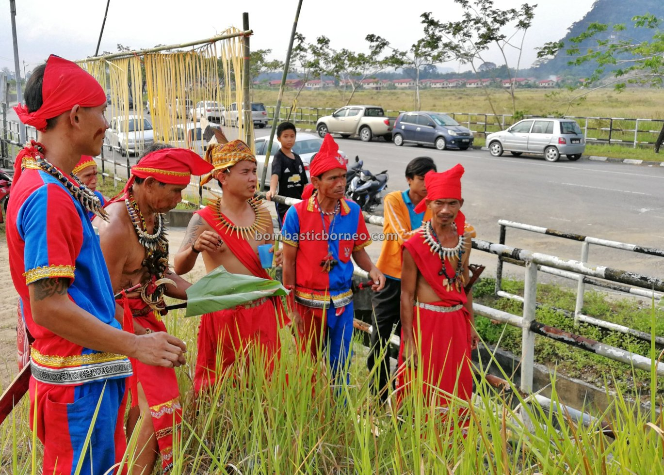 Pesta Nyarok Biya, Bengoh Dam Resettlement Scheme, traditional, culture, dayak bidayuh, Ethnic, native, Kampung Semban, Borneo, Kuching, Padawan, tourist attraction, cross border, 探索婆罗洲传统文化, 砂拉越达雅丰收节,